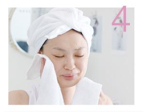 ケアナチュレル使い方STEP4